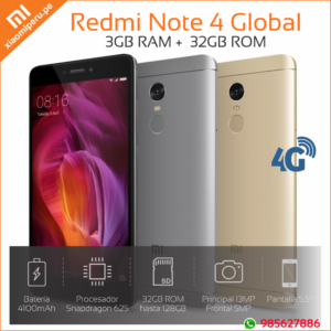 redmi note 4 global 32GB