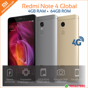 redmi note 4 de 64Gb